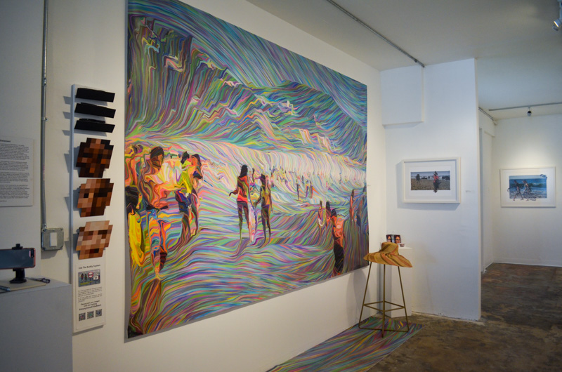 TAG Gallery Installation - Anonymous@theBeach - View 2