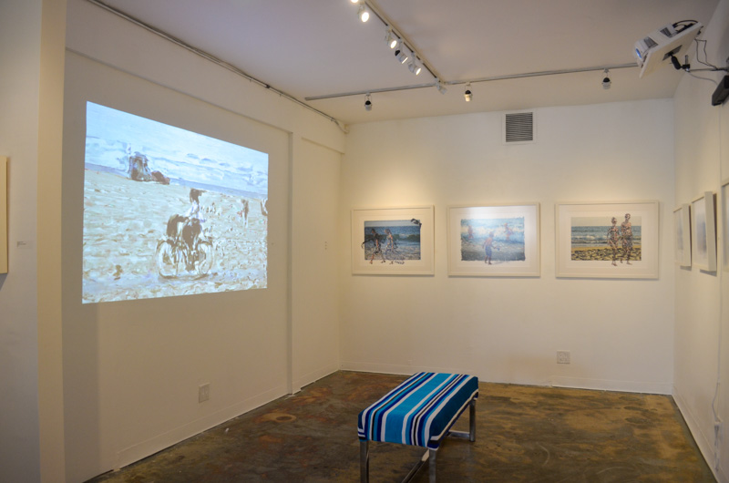 TAG Gallery Installation - Anonymous@theBeach - View 4