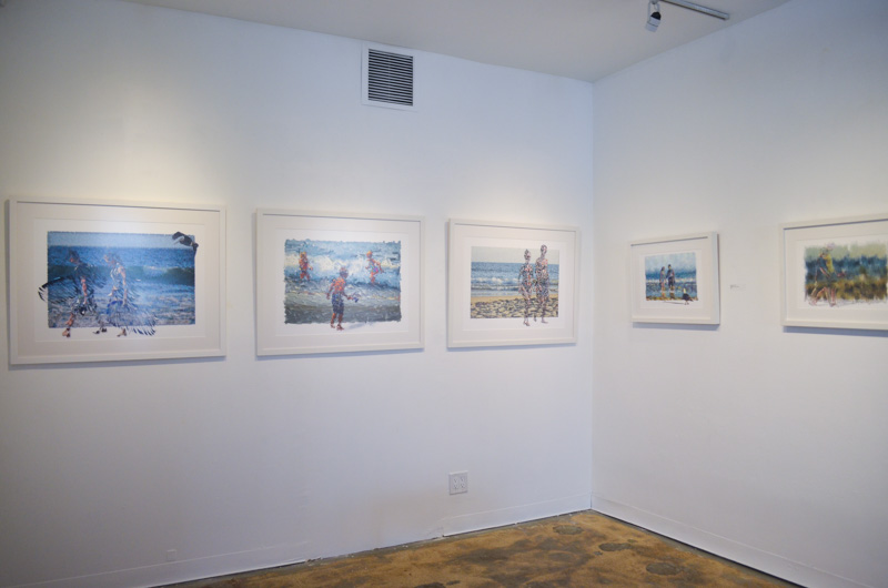 TAG Gallery Installation - Anonymous@theBeach - View 3