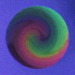 Swirl Ball_Orient Grid