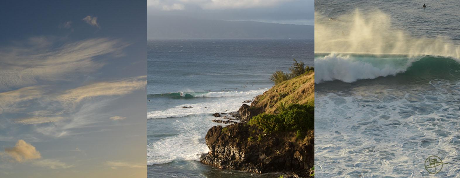 Honolulu tryptic of base images