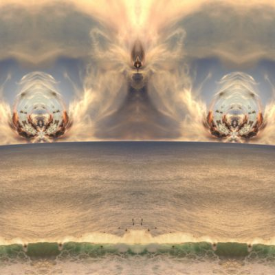 Surf And Clouds - Winged Warrior_artwork